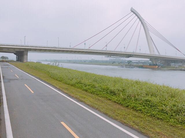 台北の河川敷