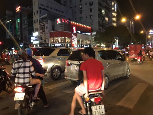 ベトナムの交通状況