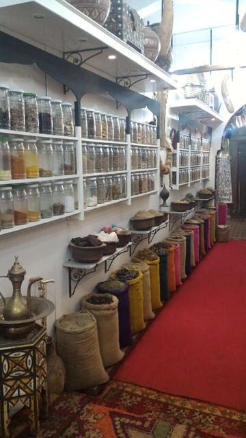 モロッコの雑貨屋さん