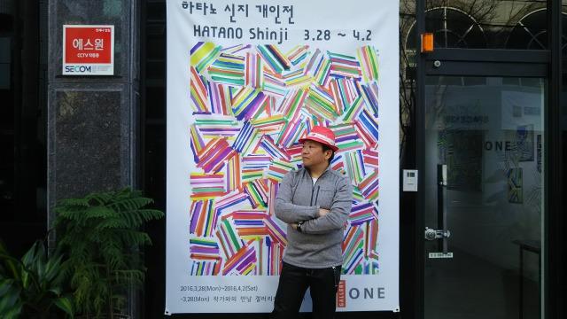 韓国での個展