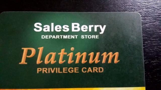 セルズベリー(SALES BERRY)のカード