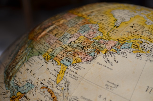 グアテマラの地図
