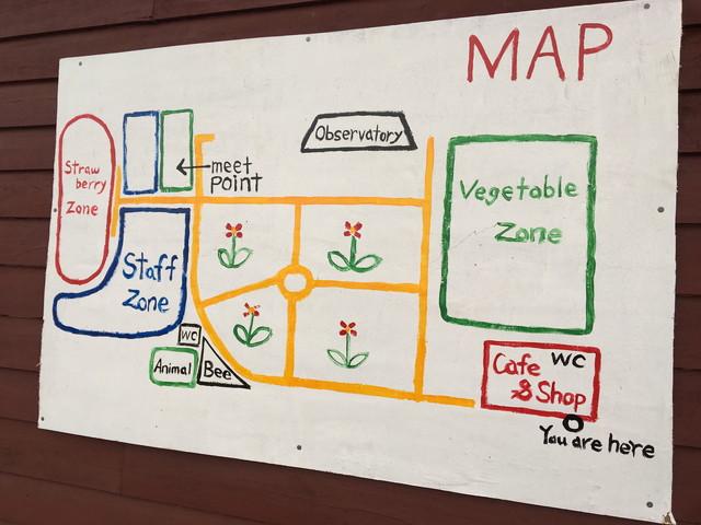 山本農園のマップ