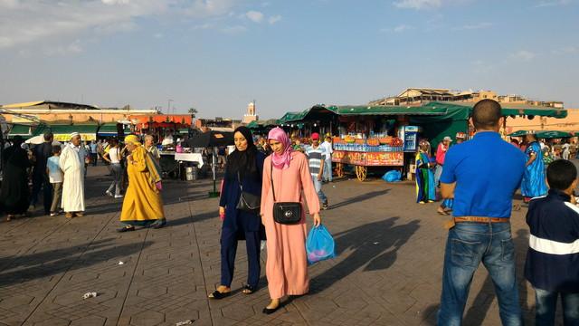 モロッコの人々
