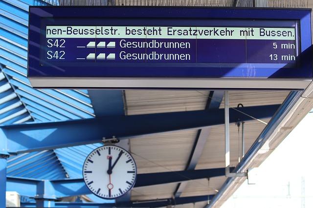 駅のプラットフォーム