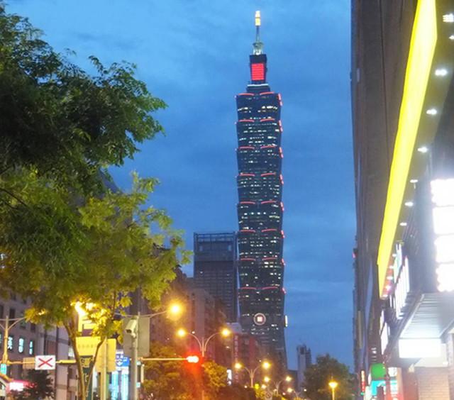 台湾の台北101