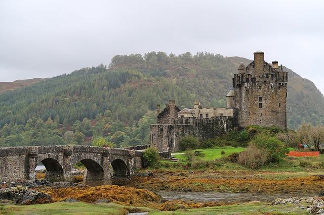 アイリーン・ドナン城(Ellean Donan Castle)