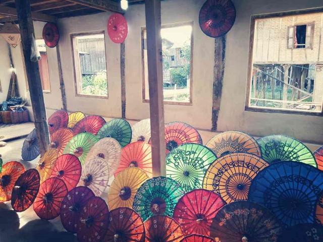ミャンマーの傘