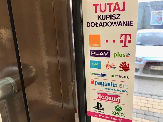 ポーランドの主な通信会社(キャリア)