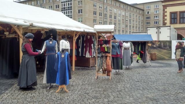 中世風スタイルの洋服屋