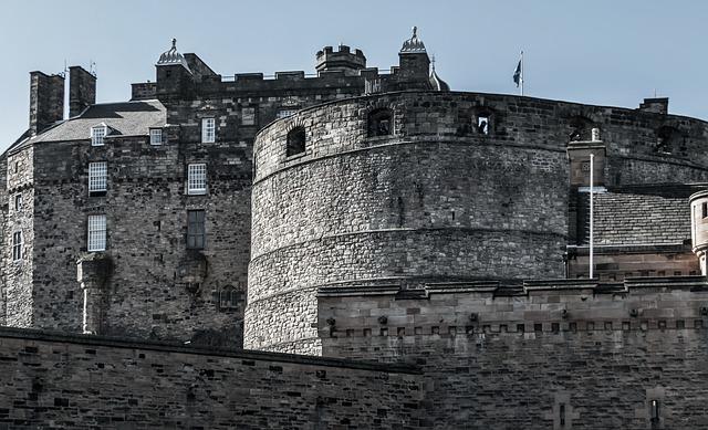 スコットランドの首都エジンバラ