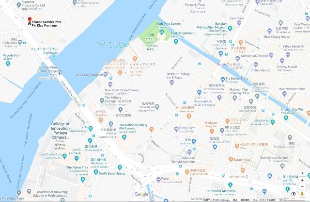 イサーン(タイ東北)料理のお店のマップ