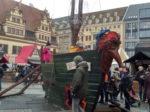 イースターにドイツのライプツィヒ市街中心で行われるメディーバルマーケットに出かけよう!