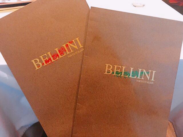 BELLINI CAFFEのメニュー