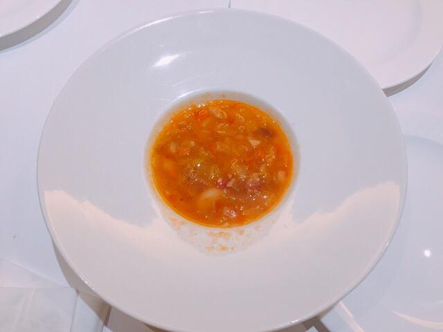 義式培根蕃茄蔬菜湯