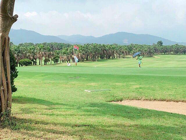 台湾のゴルフ場