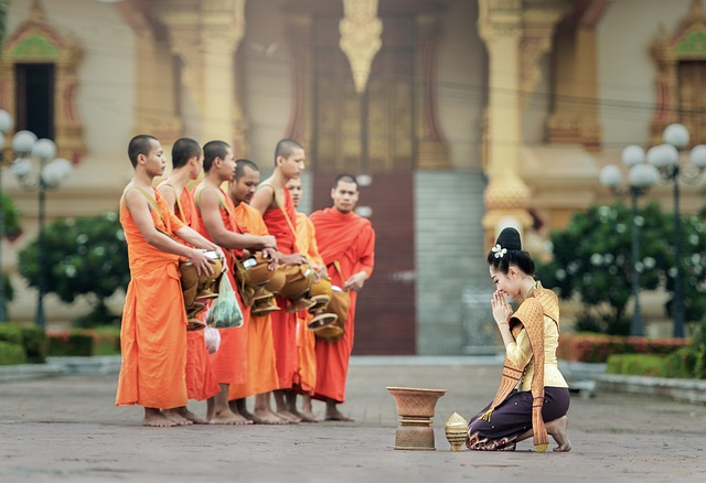タイ人の僧侶