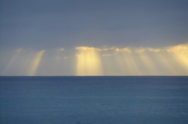 オーストラリアの海と光