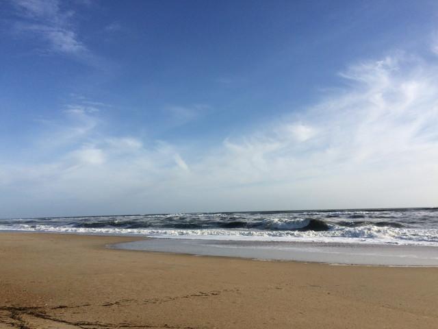 Roanoke Island(ロアノーク島)のビーチ