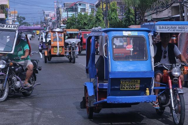 フィリピンのトライシクル