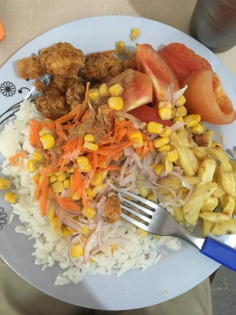 ボリビアの食事
