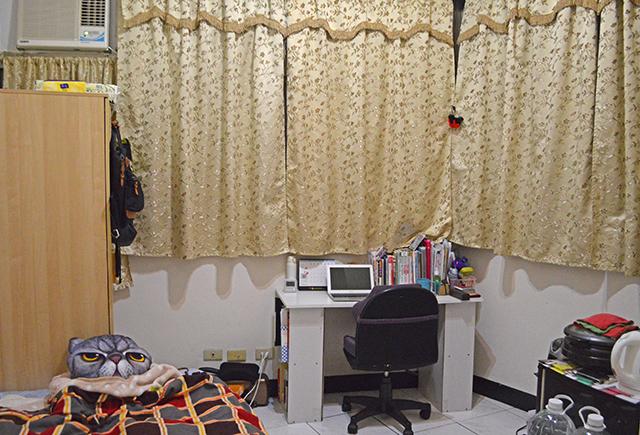 台湾の部屋