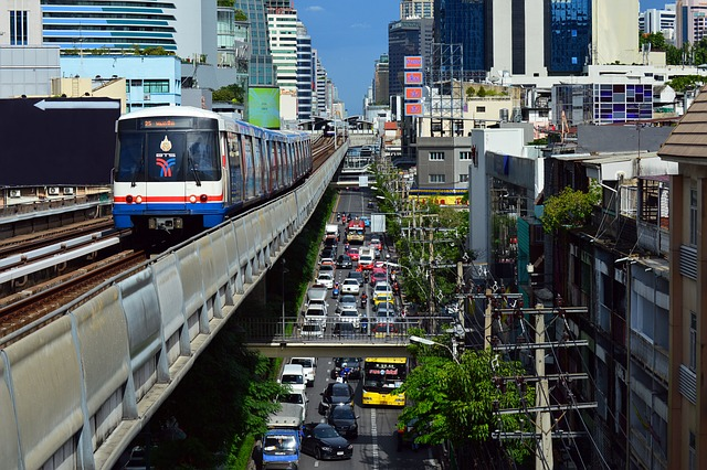 タイの街並み