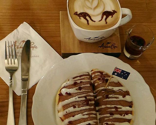 Aussie Cafe 澳氏咖啡のスイーツ