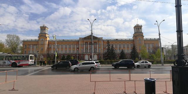 イルクーツクの中心部