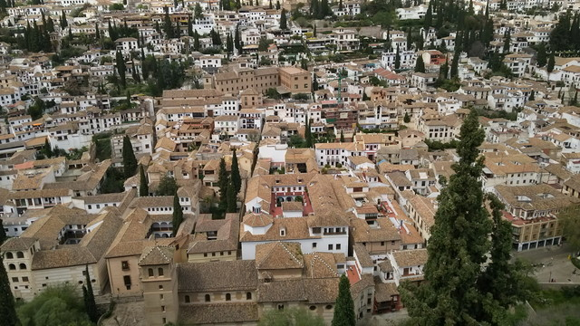 スペインの風景