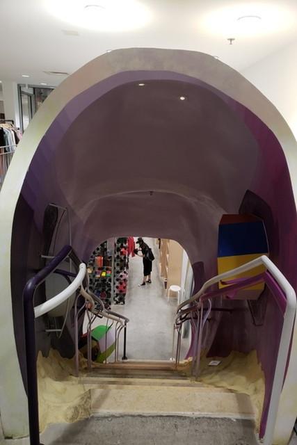 リバーシブル・デスティニー・ファンデーションによる短いトンネル