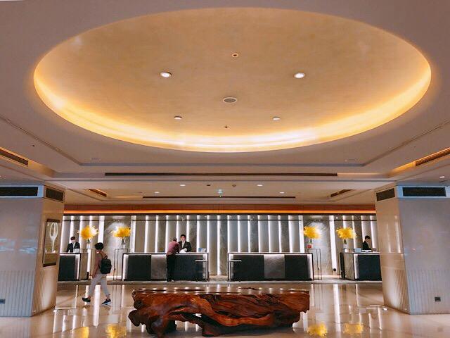シェラトングランド台北ホテルのロビー
