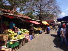 ボリビアのマーケット
