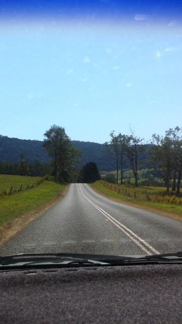 オーストラリアの道路