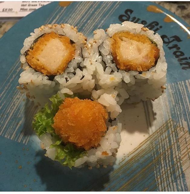 オークランド中心部にある回転寿司