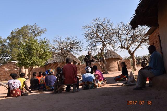 ザンビア共和国のワークショップ