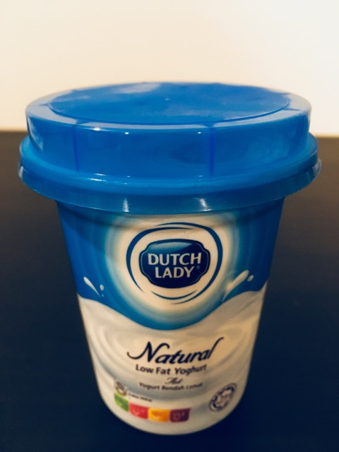 DUTCH LADY Natural Low Fat Yoghurt 140g