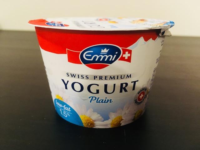 Emmi SWISS PREMIUM YOGURT Plain 100g