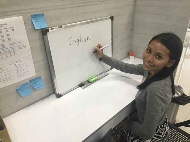 フィリピン人から英語
