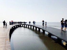 高美溼地風景區