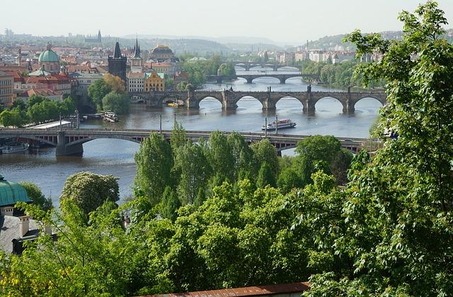 プラハの美しすぎる環境