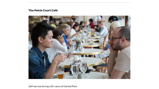 The Petrie Court Cafe 「ザ・ペトリー・コート・カフェ」