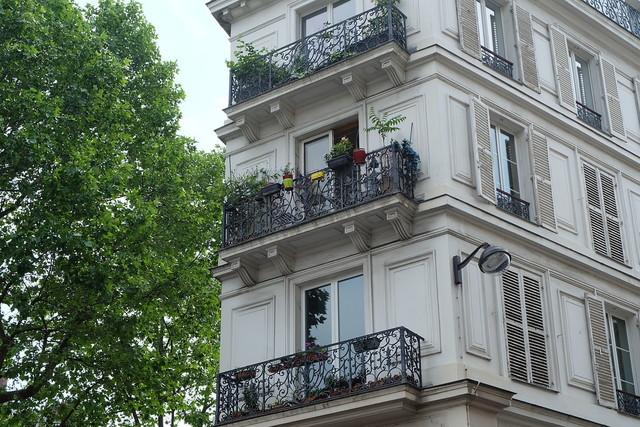 フランスのアパート