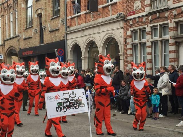 イーペルの猫祭り