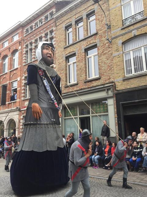 イーペルのパレード