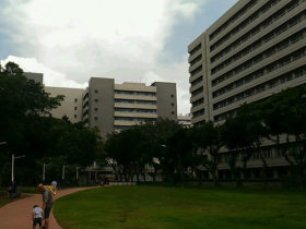 林口の長庚病院