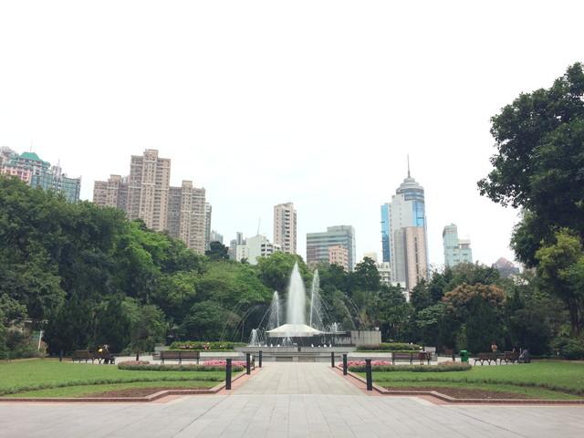 香港の公園
