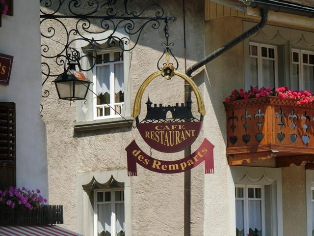 グリュイエールの町