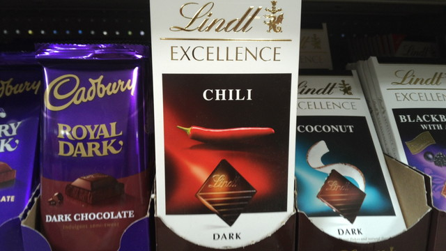 Lindt excellence Chilie(リンツエクセレンス チリ味)
