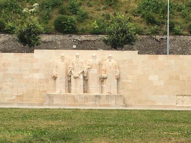 バスティオン公園の彫刻
